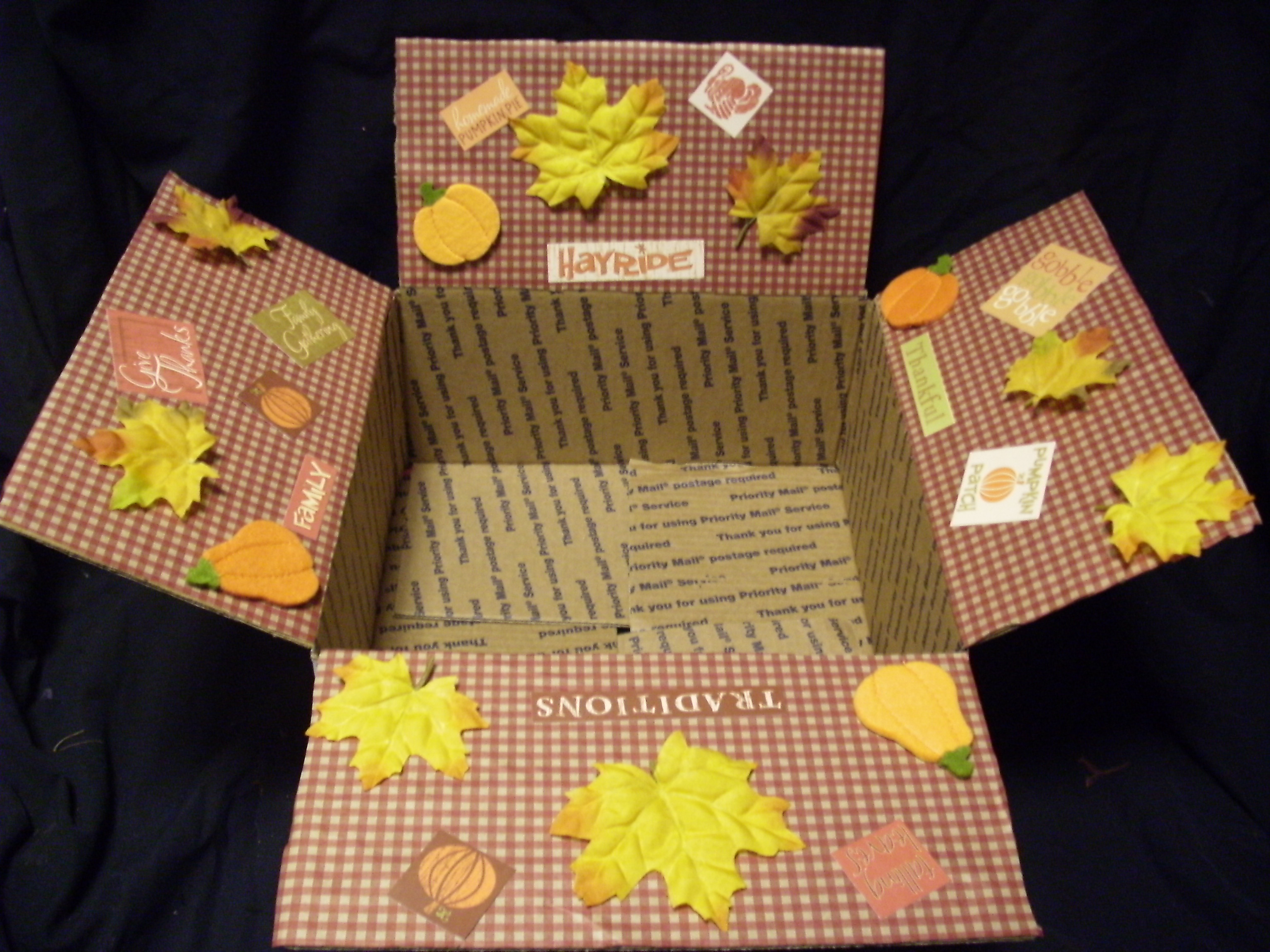 Fall decorating ideas for office - Thanksgiving Care Packages Army Wife 101army Wife 101