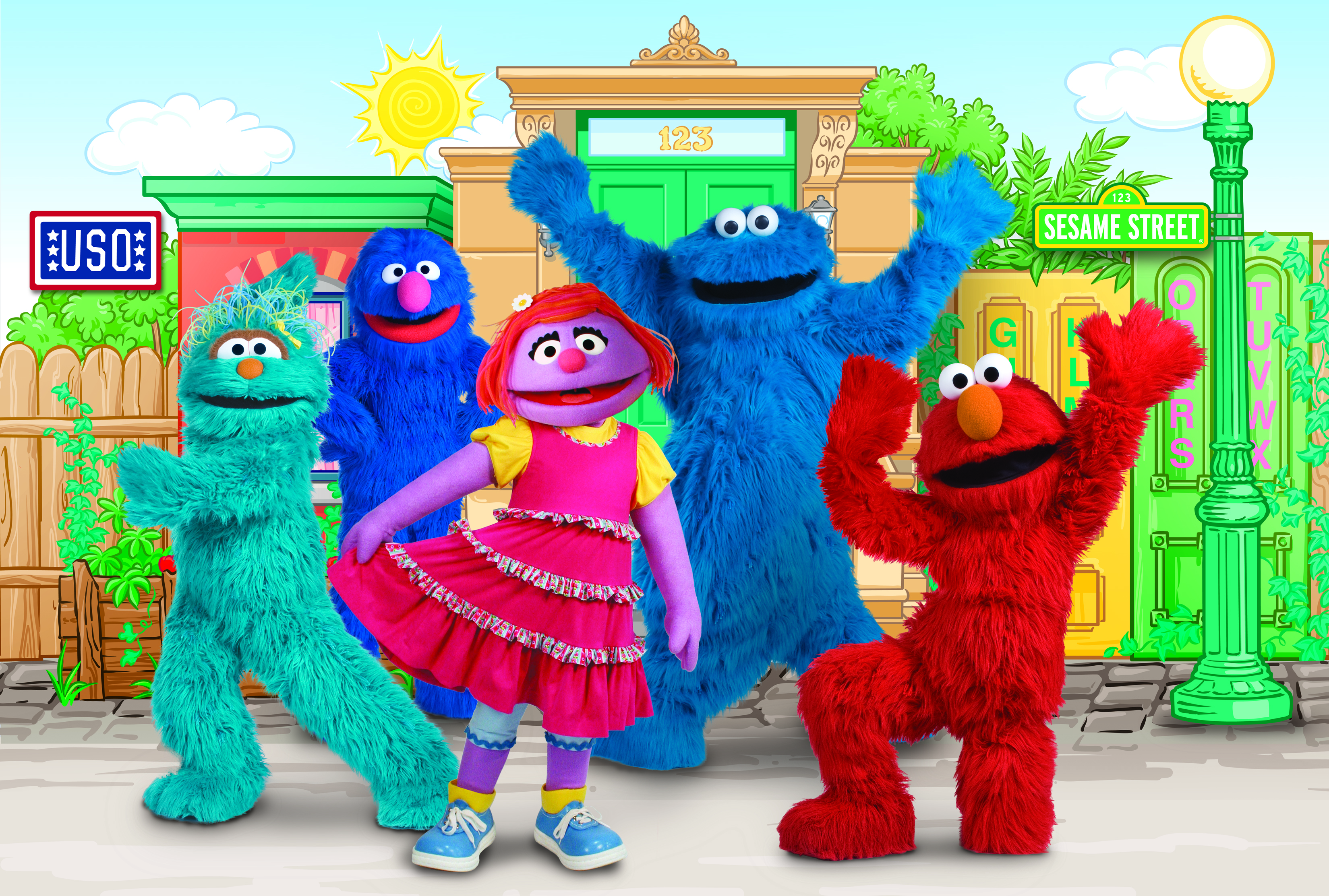 The 2011 USO Sesame Street Tour is Coming to A Base Near You!