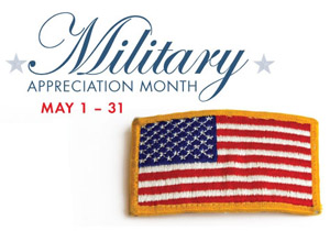 Military Appreciation Month & A Month of Discounts and Freebies