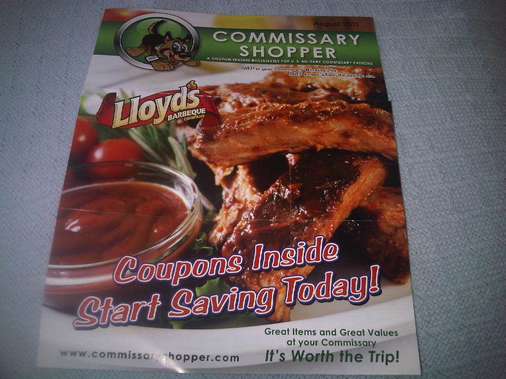 Coupon Site for Commissary Shoppers Will Send You Coupons In Mail!