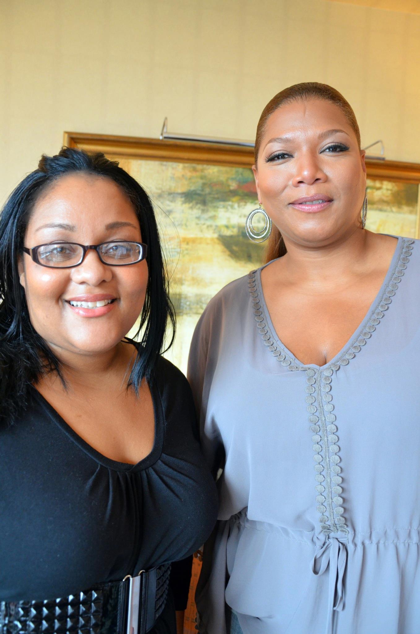 Part 3: Krystel from Army Wife 101 Interviews Queen Latifah {Video}