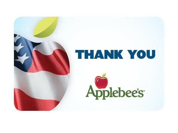 *closed*Applebee's Giftcard Giveaway+New Bonus $10 Card Offer