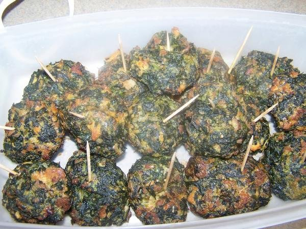 Foodie Friday: Bacon Spinach Parmesan Ball Appetizers