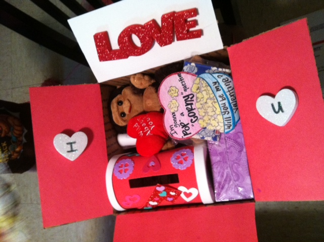 valentine's care package ideas: pop corn-y questions and i love, Ideas