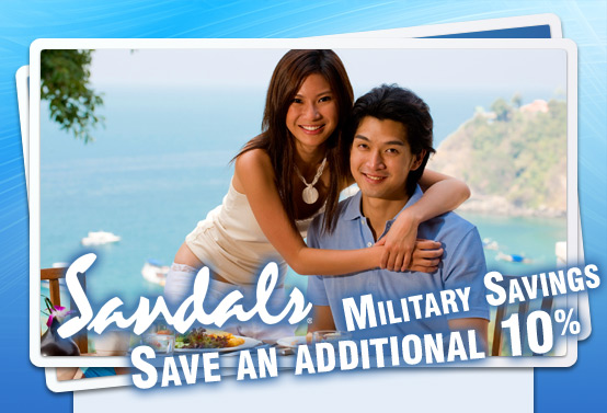 Sandals Resorts Offering Additional Military Discount