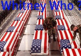 The Death Of Whitney Houston Vs. The Death Of Our Troops