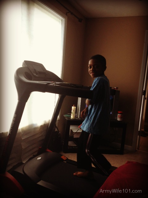 Smooth Fitness Treadmill Journey: My Kids and The TreadMill