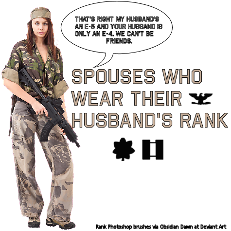 When Wives Wear Their Husband's Rank…Revisited