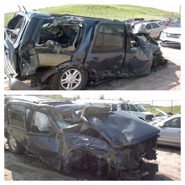 Wordless Wednesday: One Year Ago Today…I Survived This