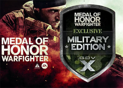 For The Soldier (Tell Your Hubbies Who Love Video Games): New Military ONLY Edition Medal of Honor: WarFighter Video Game To Be Released…Great Christmas Present!