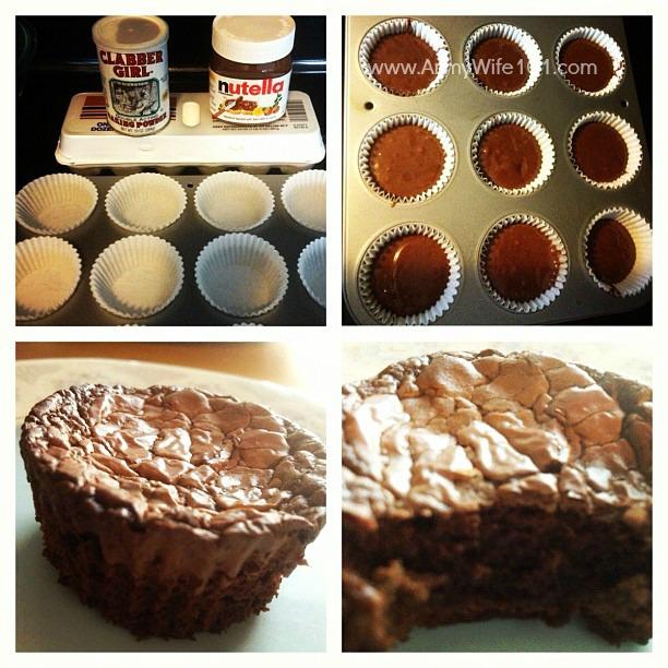 Foodie Fridays: I Made Those Three Ingredient Nutella Cupcake Brownies