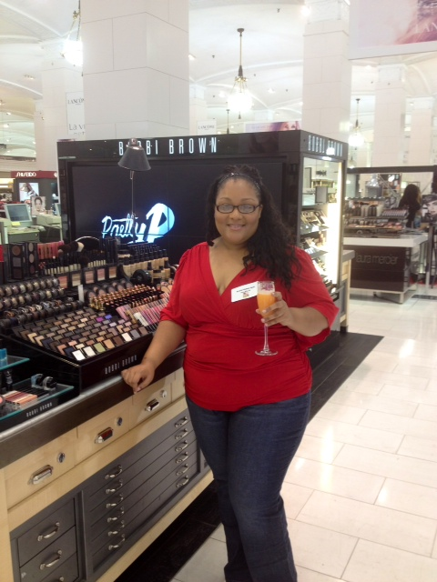 Plus Size Fashion Diaries: Lady In Red Well Sort Of…How I Transformed A Top From Day To Night