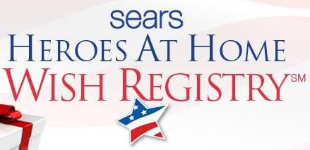 Do Something Different and Donate To The Sears Heroes At Home Wish Registry and Support a Hero