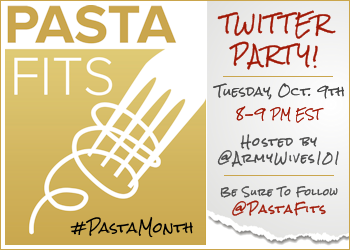 Celebrate Pasta Month At The Pasta Fits Twitter Party With Army Wife 101