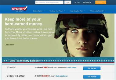 TurboTax Military Edition is personalized to the specific needs of military filers and was created by active, reserve, and retired military personnel and military spouses to address the specific challenges that come with being a military tax filer.