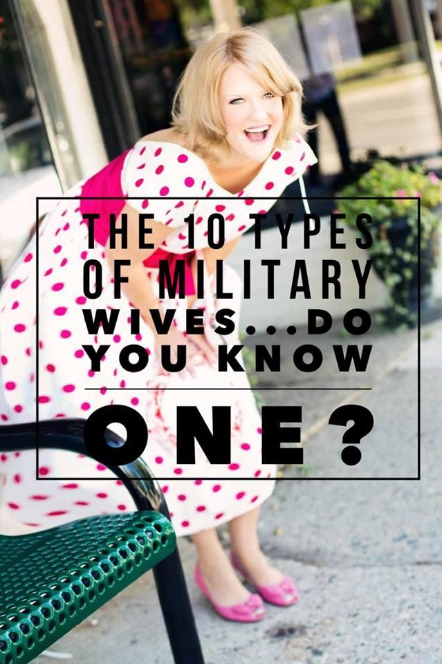 10typesofmilitarywives