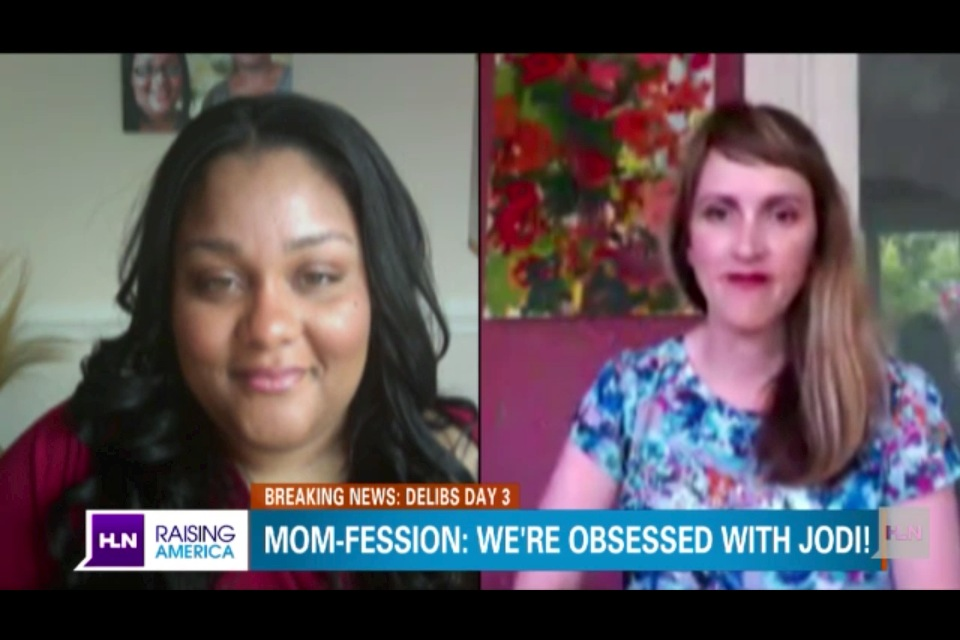 "I Was On TV Again Today: Krystel on the HLN Channel's ""Raising America"" Discussing Moms Fascination with the Jodi Arias Trial"
