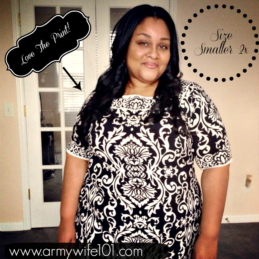Army Wife 101 Plus Size Fashion & Style: Love My Black and White from Gwynnie Bee