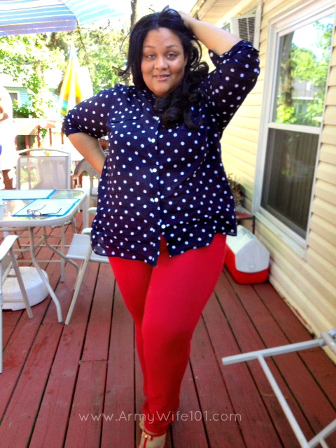 special edition plus size fashion thursday: i'm all about red