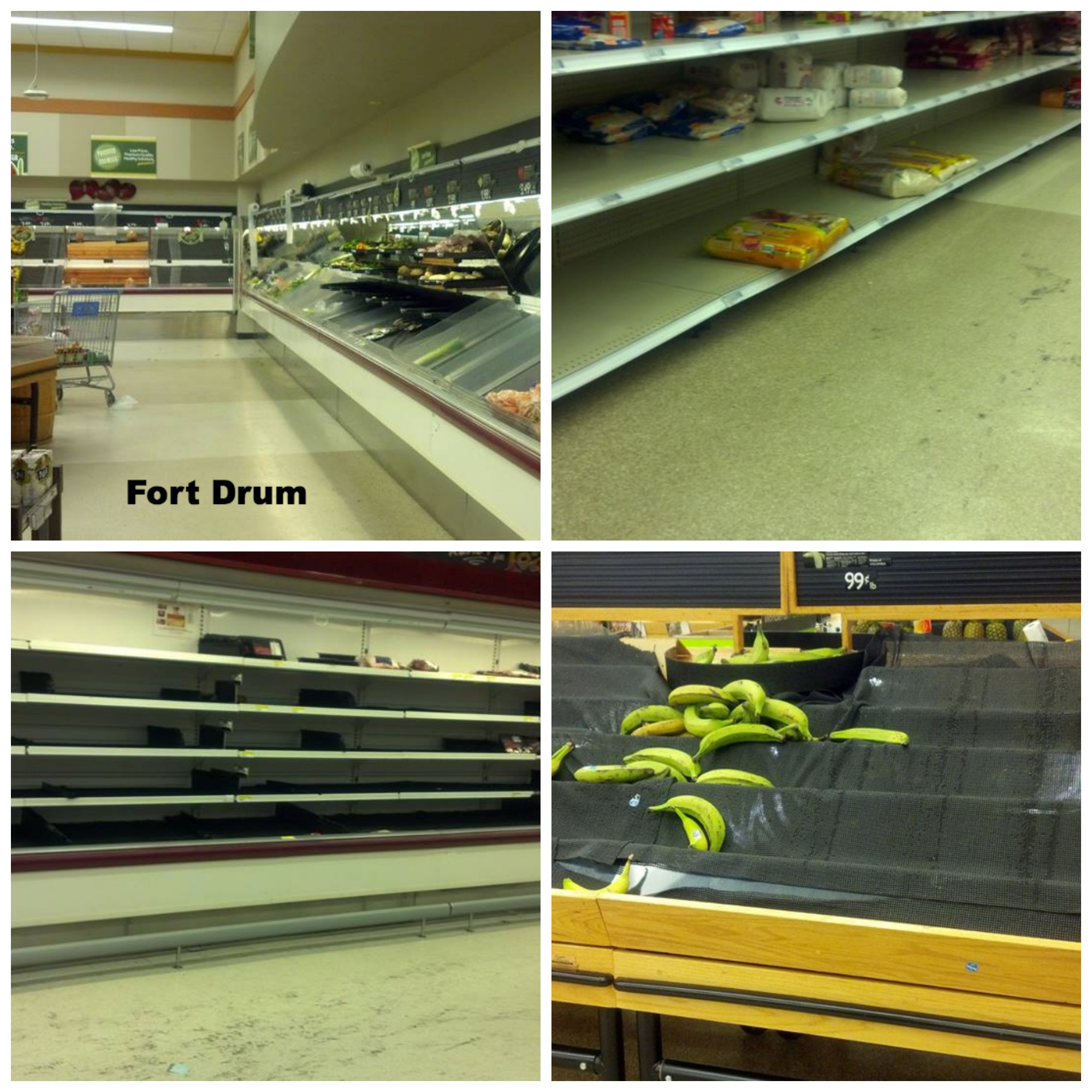 Semi Wordless Wednesday: Scenes From The Commissary: The Struggle Was Real Yesterday
