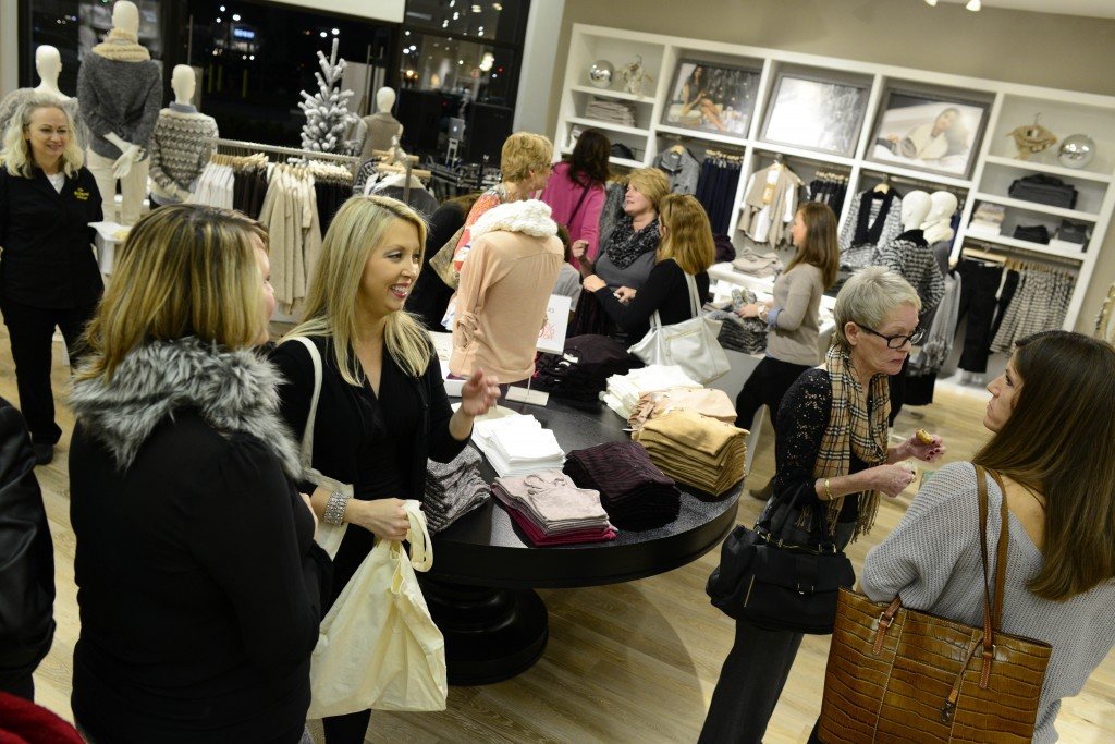 FAYETTEVILLE, NC - DECEMBER 6: LOFT event December 5, 2013 at Cross Creek Mall in Fayetteville, North Carolina.  (Photo by Grant Halverson/Getty Images)