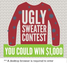 Pioneer Services ugly sweater 1