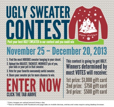 Pioneer Services ugly sweater 2