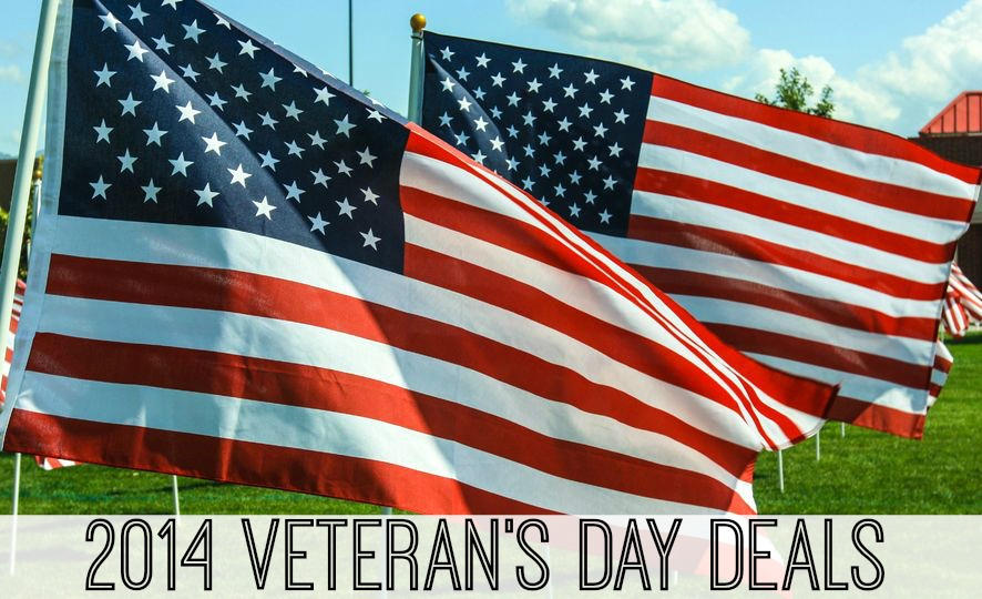 2014 Veteran's Day Freebie and Military Discount List