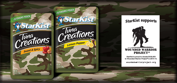 A Taste of Home With StarKist Camo Tuna Pouches In Care Packages Plus A Giveaway