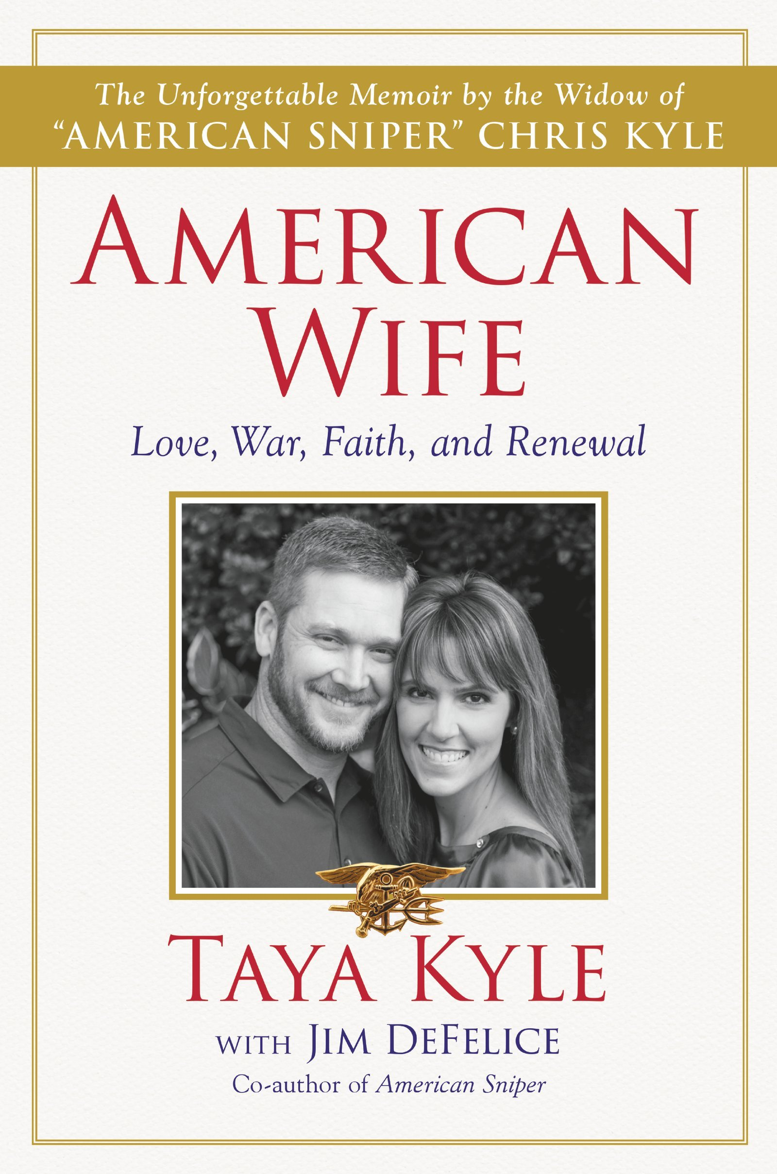 American Sniper's Wife Will Release Memoir On Life As A Military Spouse