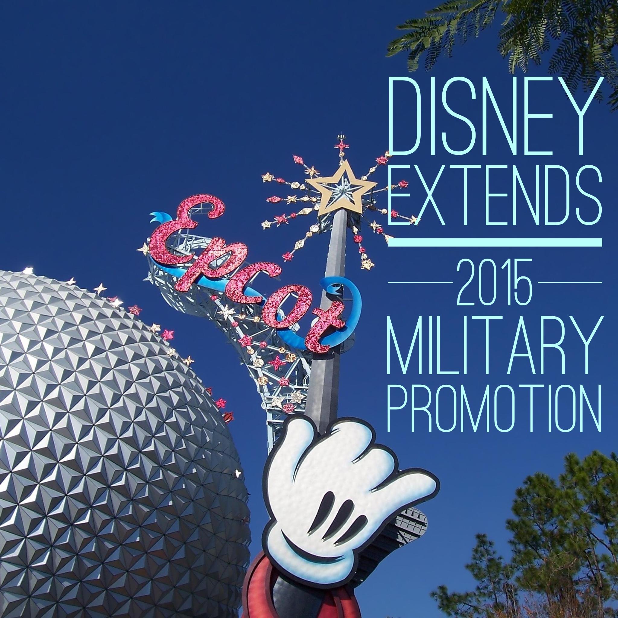 Visit Disney Military
