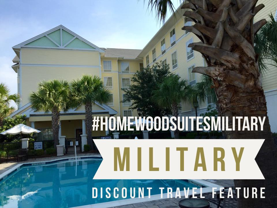 #HomeWoodSuitesMilitary…My Stay At The Hilton Homewood Suites