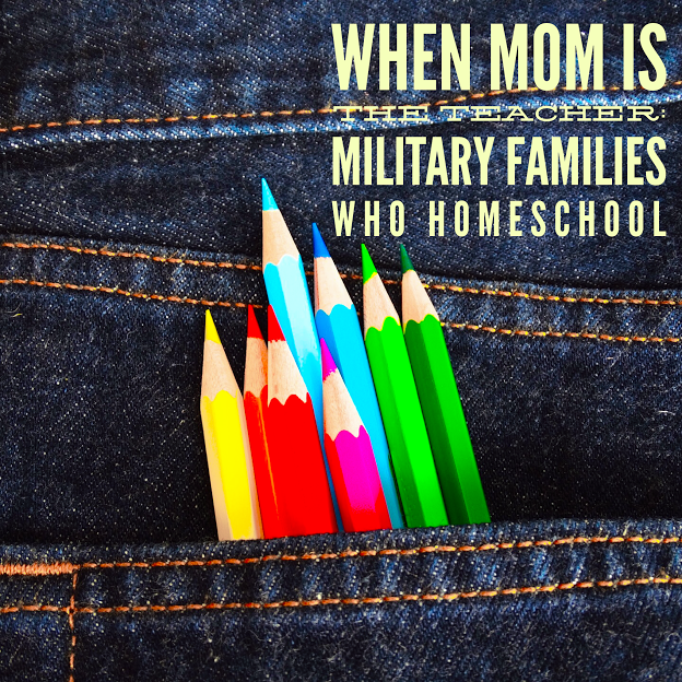 When Mom Is The Teacher: Military Families Who Homeschool