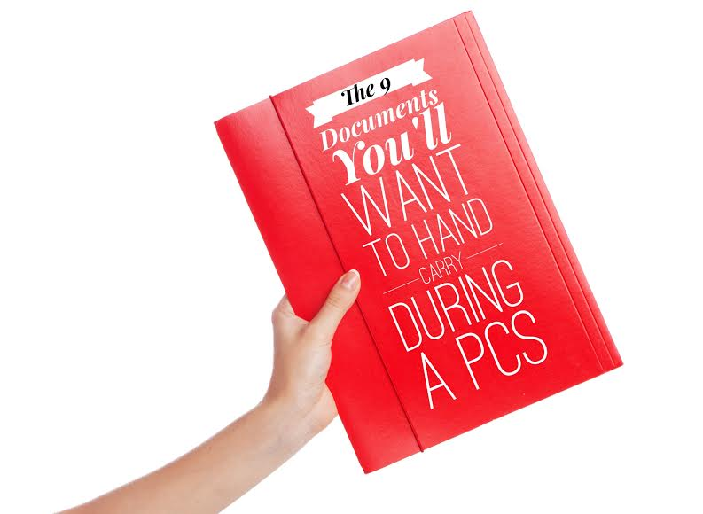 The 9 Documents You'll Want To Hand Carry During A PCS