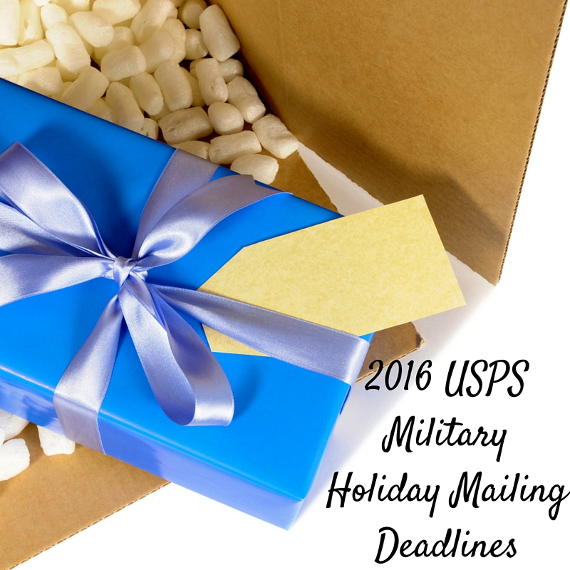 2015 Military Holiday Mailing Deadlines Released & Free Military Mail Kits