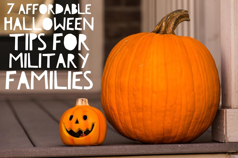 7 Affordable Halloween Tips for Military Families