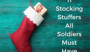 11 Stocking Stuffers That Must Be In Your Soldiers Stocking