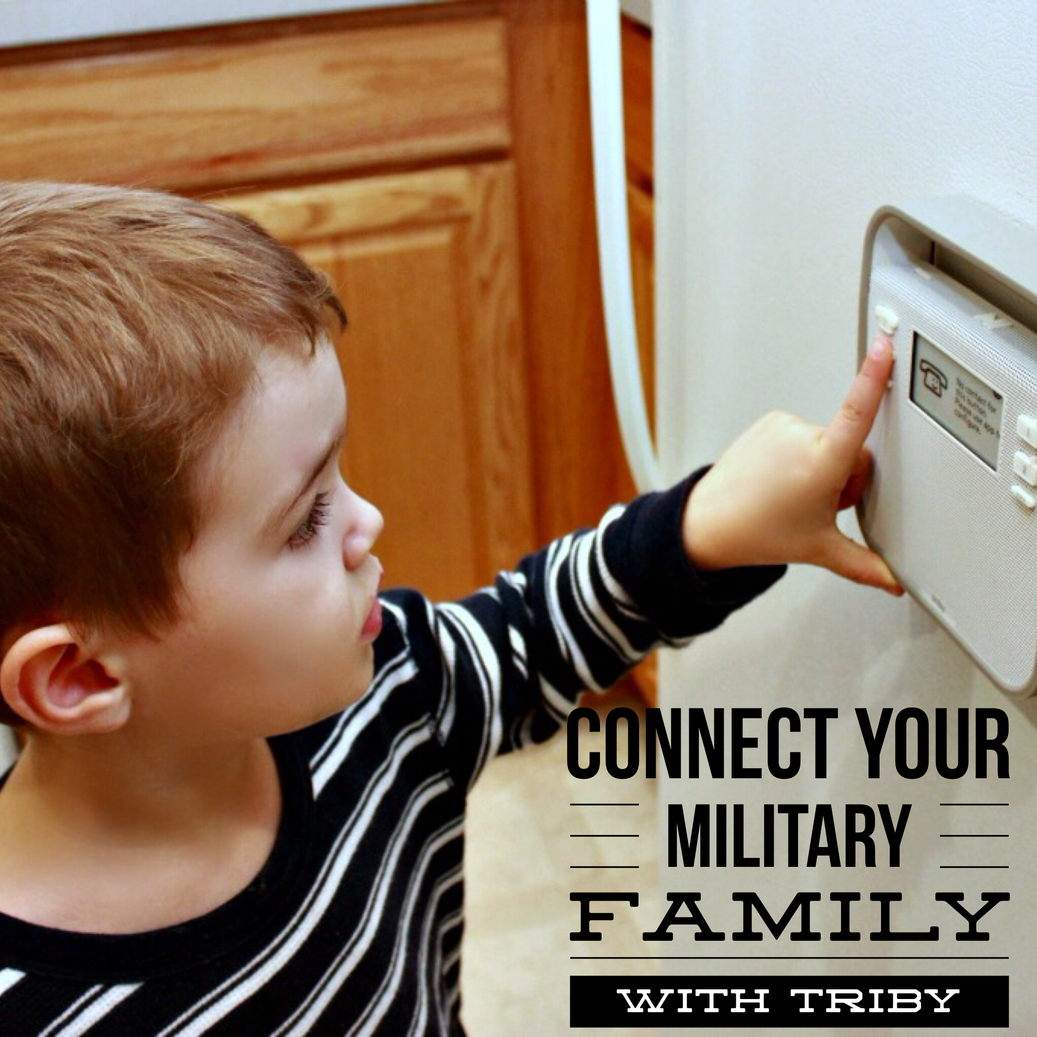 Connect Your Military Family With Triby (Sponsored)