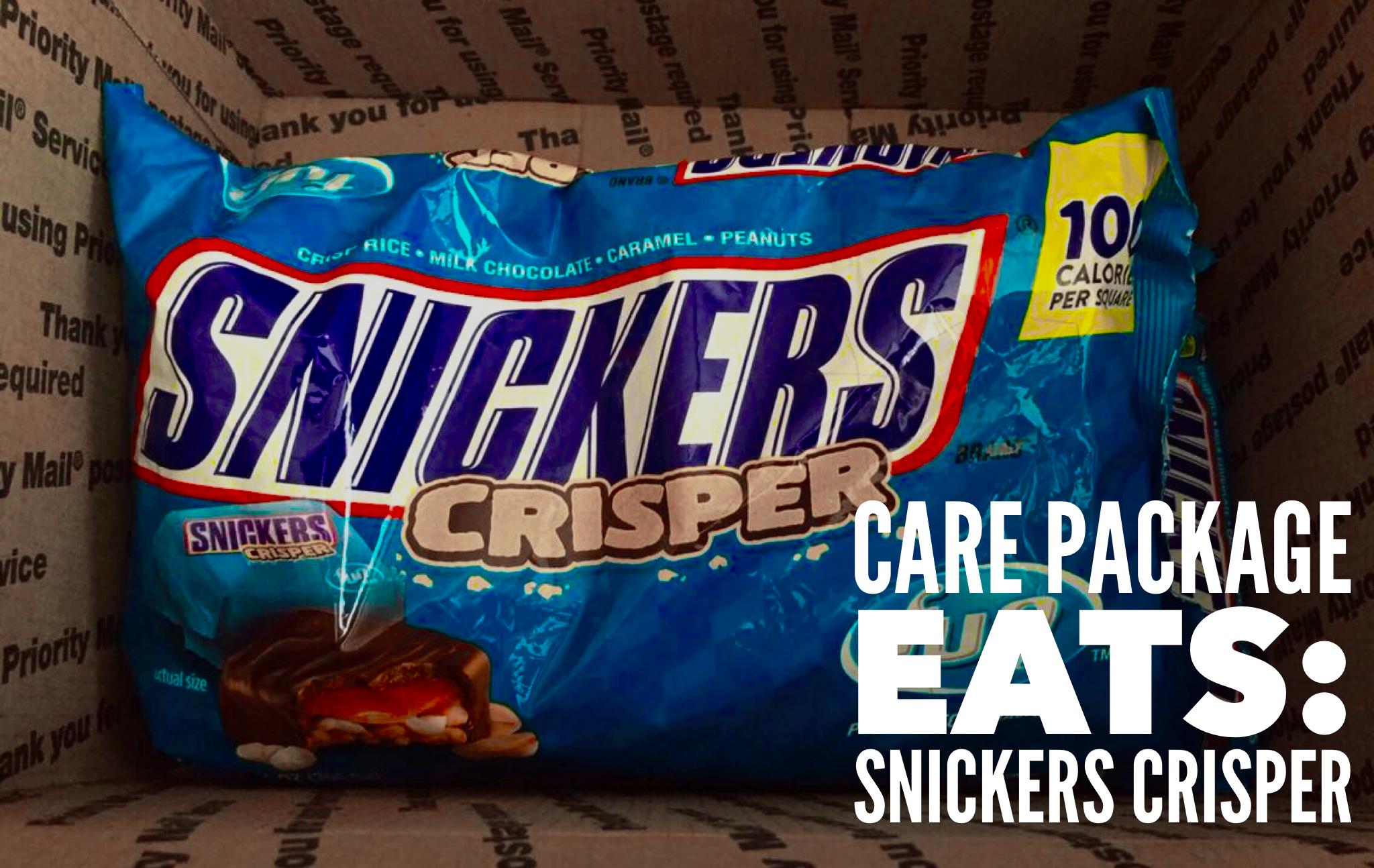 Care Package Eats: Snickers Crisper