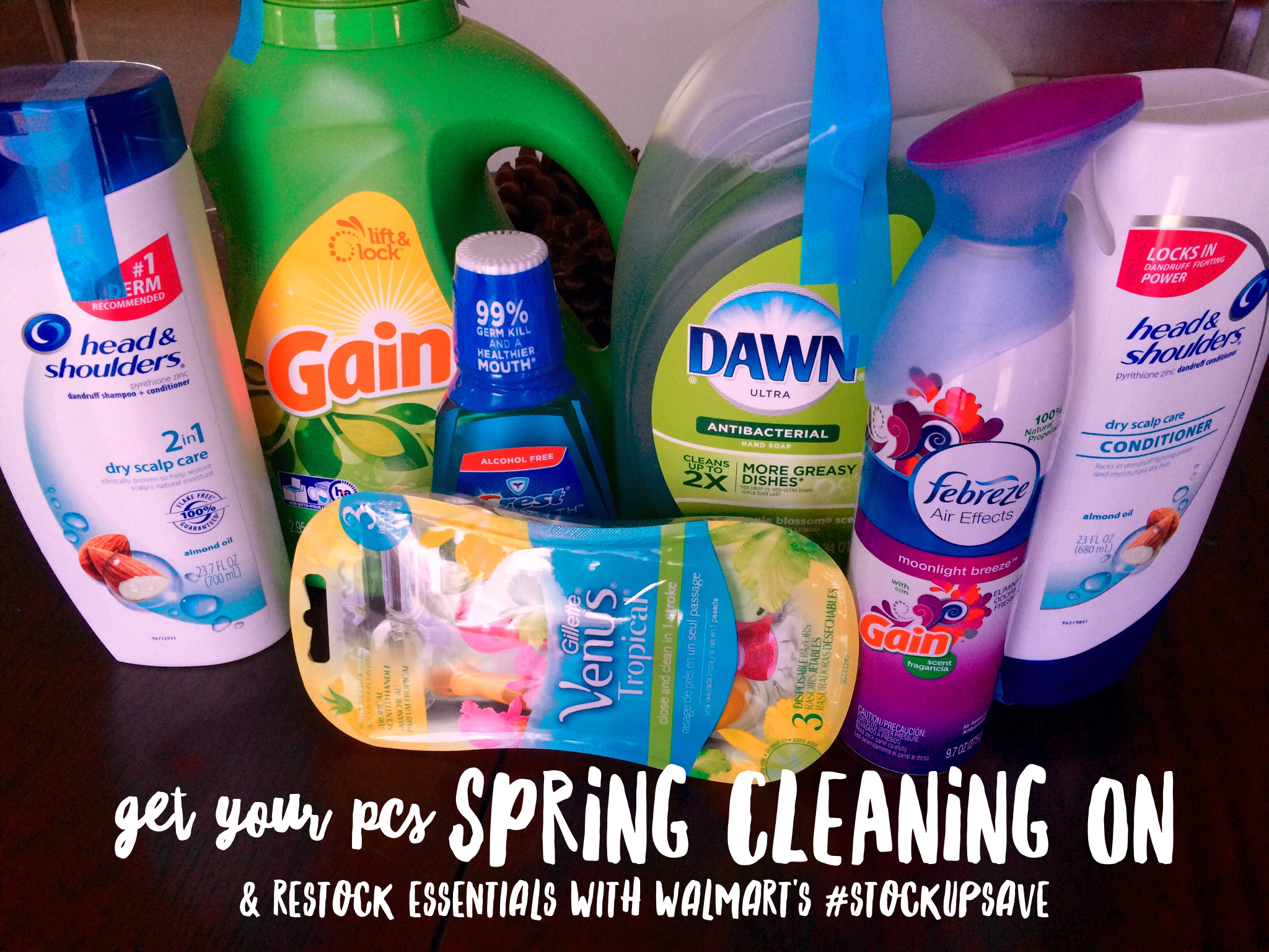 Get Your PCS Spring Cleaning On & Restock Essentials With Walmart's #StockUpSave