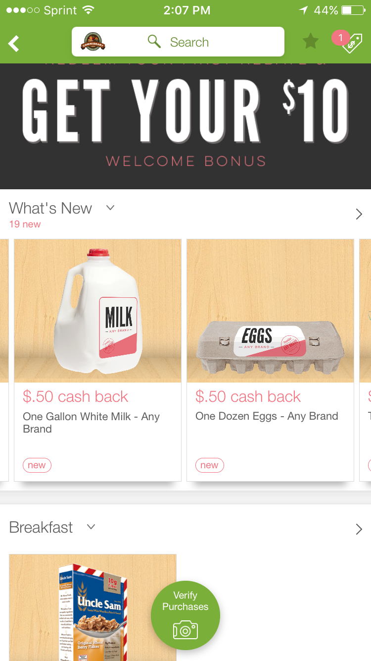 OMG: The App That Lets You Get Cashback from Commissary Purchases On Stuff You Actually Buy