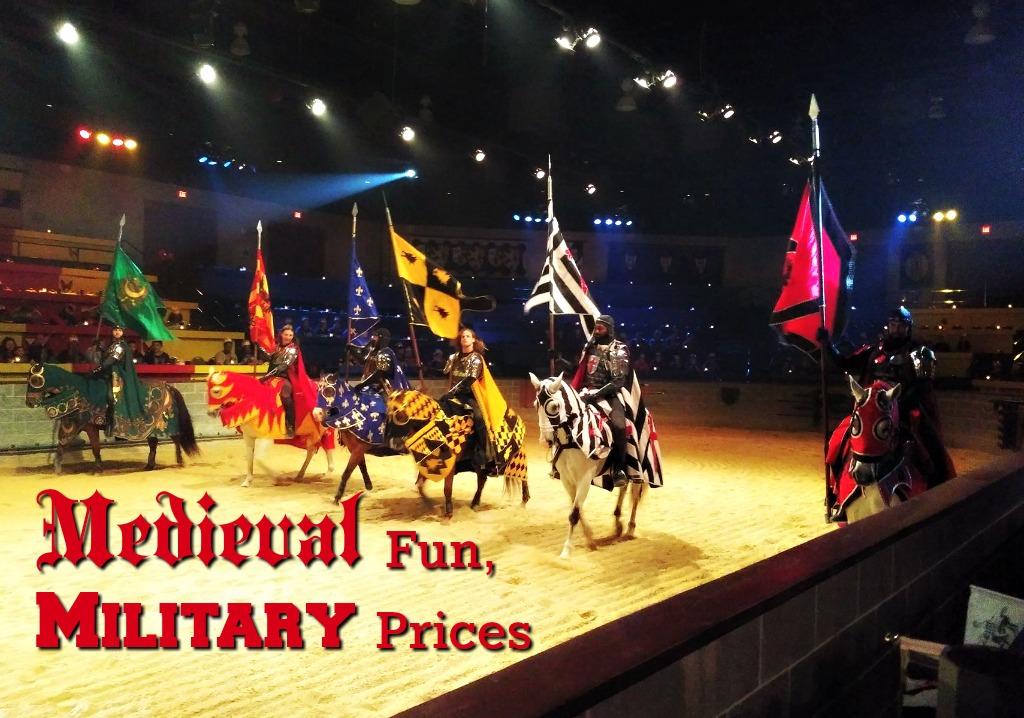 Medieval Fun, Military Prices