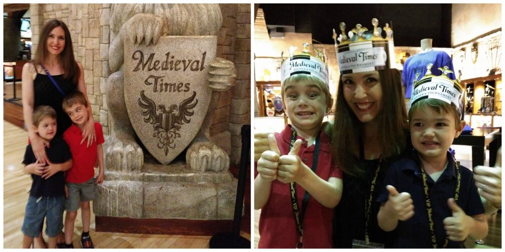 Medieval Times Side by Side