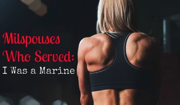 Milspouses Who Served I Was a Marine