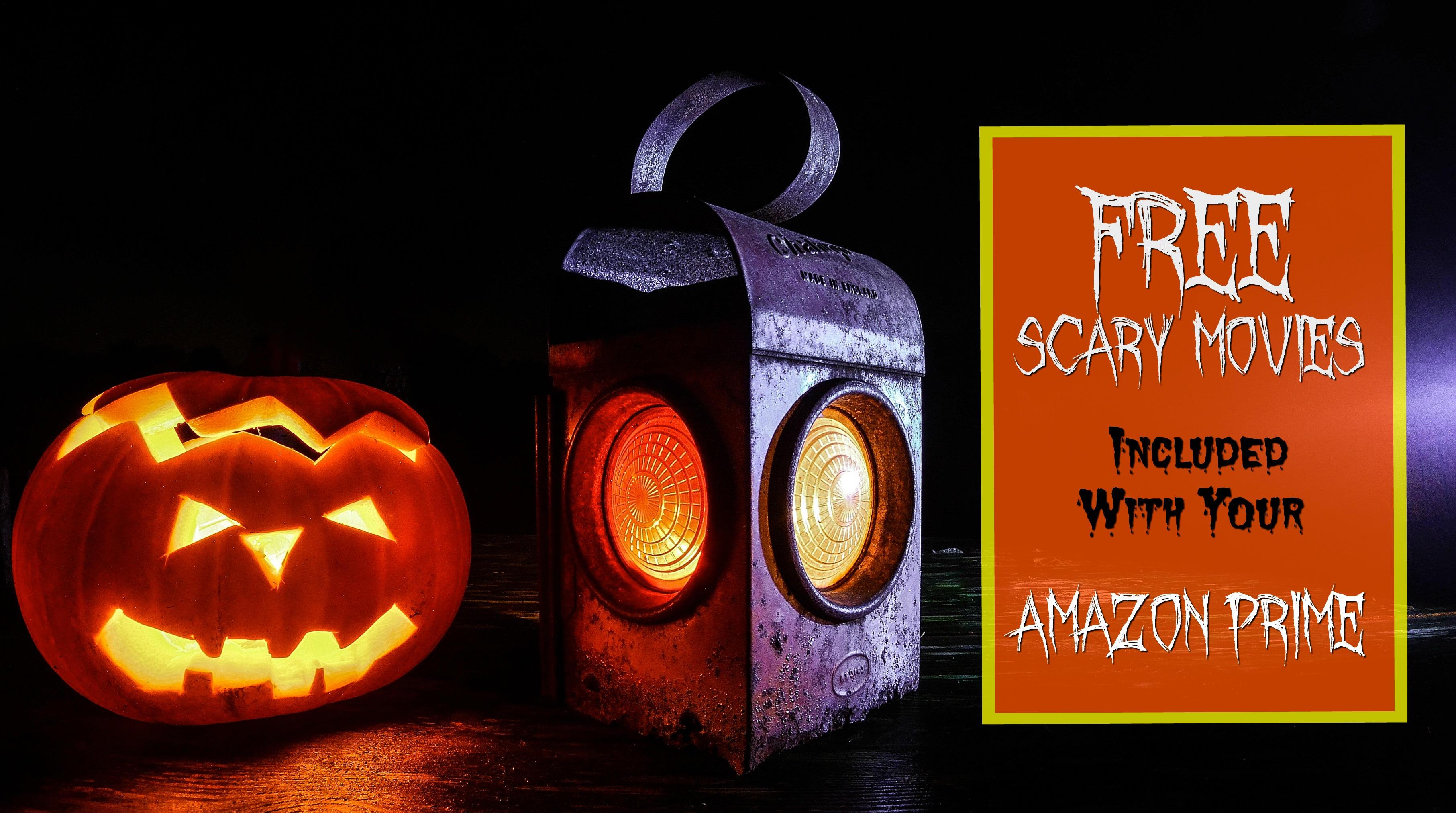 Army Wife 101 Recommends: 16 Free Scary Movies Included With Your Amazon Prime