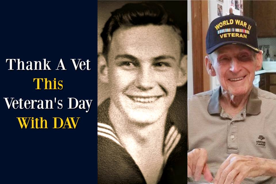 Thank A Vet This Veteran's Day with DAV