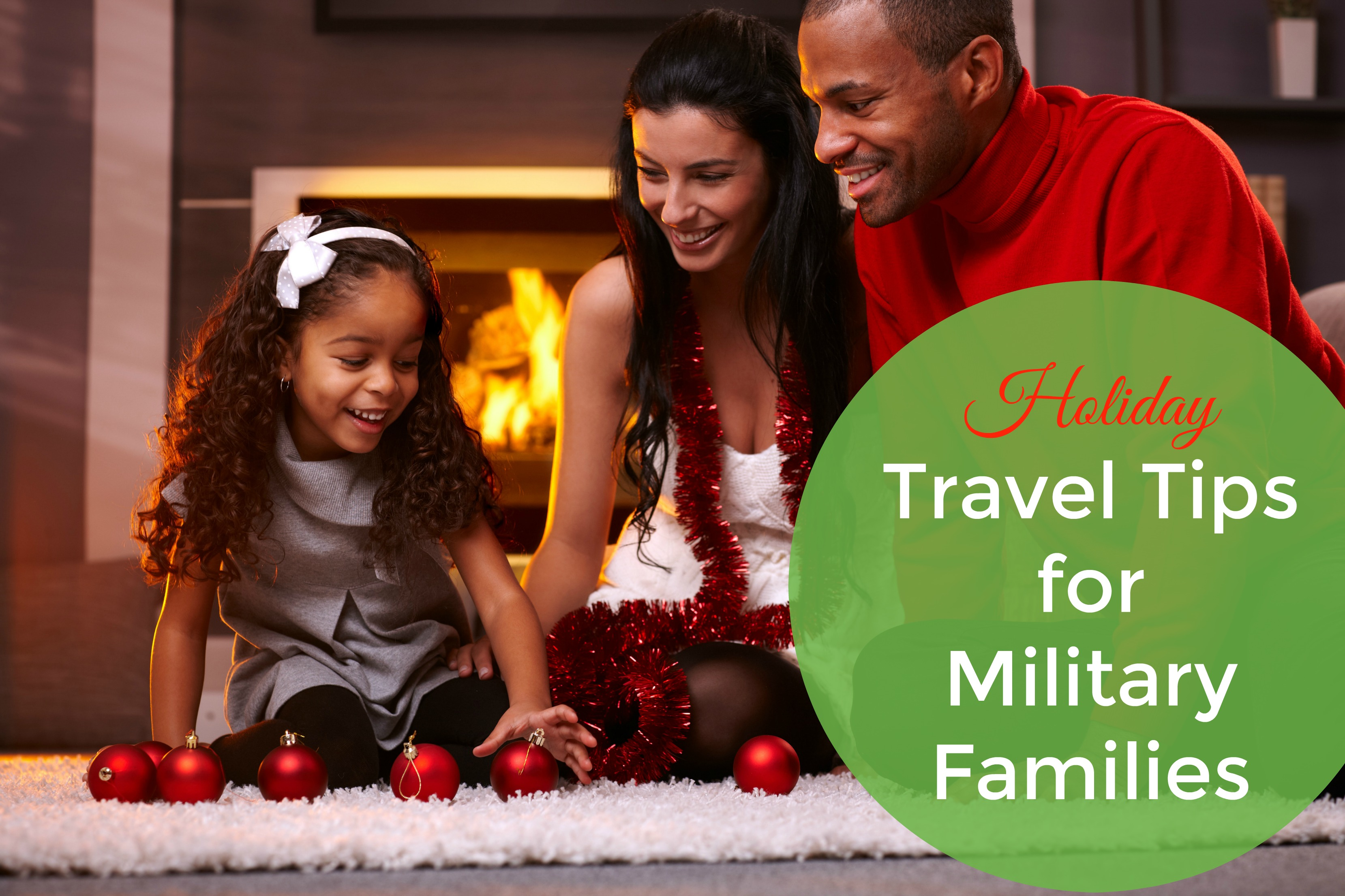 Holiday Travel Tips for Military Families