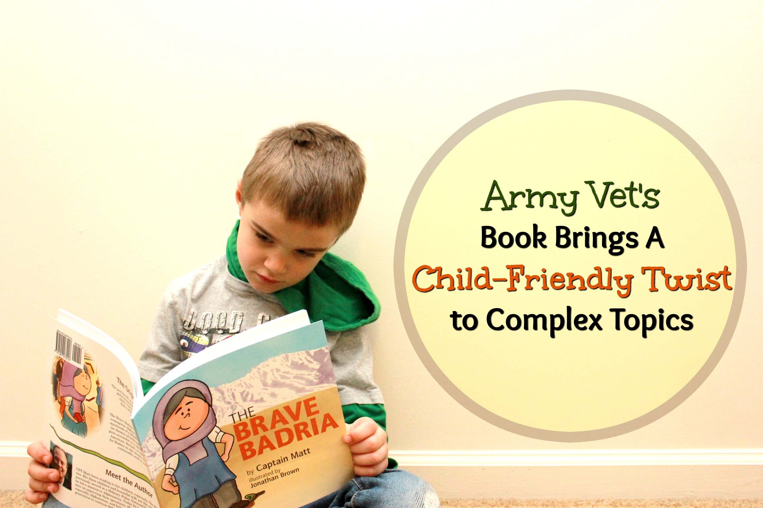 Army Vet's Book Brings a Child-Friendly Twist to Complex Topics
