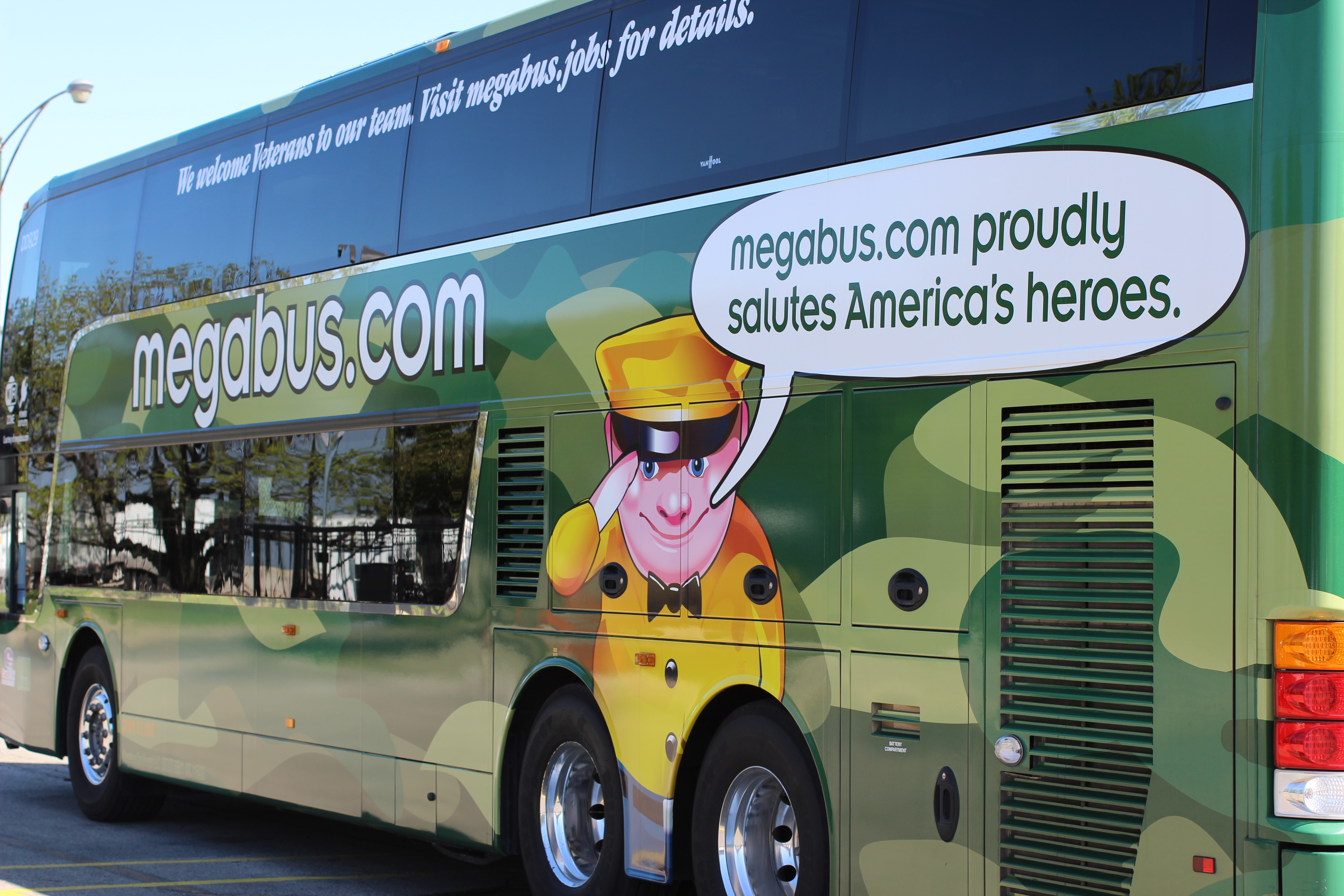 Travel On The Camo Bus and Support Families of Fallen and Disabled Heroes