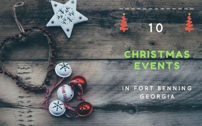 10 Christmas Events in the Fort Benning Georgia Area